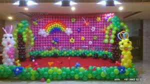 balloon wall decorations for birthday party sitara grand miyapur