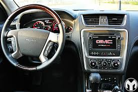 gmc acadia 2015 interior. road test review 2015 gmc acadia denali gmc interior