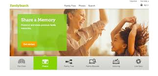 Familysearch Org Redesign Includes Shareable Photo Story