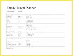 Vacation Planner Online Trip Organizer Template