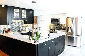 black cabinets white countertops the contrast of the white with the black cabinetry is very sharp the dark cherry cabinets with white granite countertops