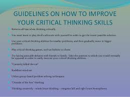Critical and Creative Thinking   Critical Thinking Educational Technology and Mobile Learning Use critical thinking skills