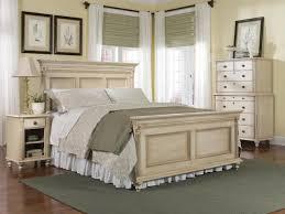 Distressed Bedroom Furniture Sets Durham Furniture Savile Row 4 Piece Panel Bedroom Set In Antique Cream
