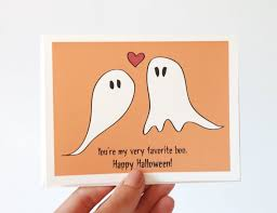 cute card happy halloween sayings