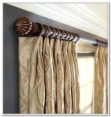 Delightful Curtain Rods Drapes Image Of Drapery Rod For Wide Windows Curtain Rods For  Pinch Pleated Curtains . Curtain Rods ...