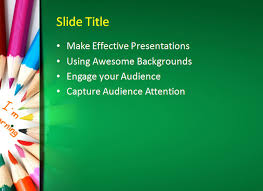 Ppt Templates Education Kids Learning Powerpoint Template Powerpoint Templates Education