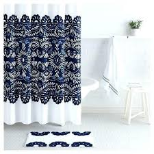 yellow and white shower curtains blue and grey shower curtain yellow blue and gray fl shower
