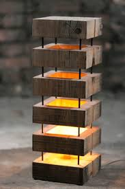 wood lighting. thedesignwalker wooden lamp for indoors nice idea and implementation wood lighting