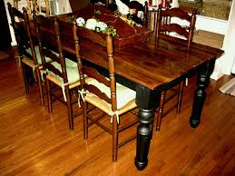 furniture rectangle transpa glass top dining table with carving black wooden pedestal base modern design of
