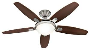 hunter contempo 52 indoor ceiling fan transitional ceiling fans by buildcom