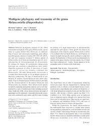 pdf multigene phylogeny and taxonomy