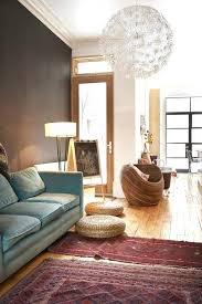 oriental rugs in midcentury
