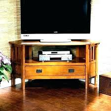 Craftsman Style Corner Tv Stand Console Many Couches – dynamic-web