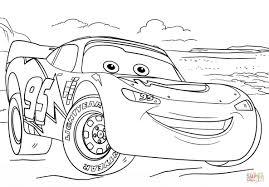 lightning mcqueen drawing. Wonderful Drawing Lightning Mcqueen Drawing From Cars 3 Coloring Page   Free Printable Throughout U
