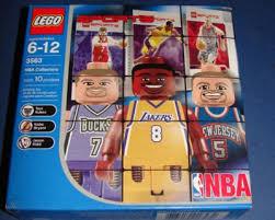 Lego 3563 NBA Kukoc, Bryant, Kidd, Bucks Lakers Nets   #163277247
