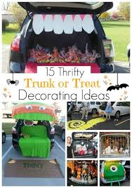 15 Thrifty Trunk or Treat Decorating Ideas . This post is totally helpful  for finding tons of ideas on trunk or treats that aren't so expensive.