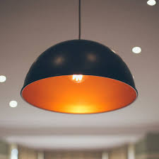 cable pendant lighting. Hand Spun Large Pendant With Red Fabric Cable Lighting U