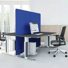 Office desk dividers Cubicle Floormounted Office Divider Countertop Fabric Soundproofed Archiexpo Fabric Office Divider All Architecture And Design Manufacturers