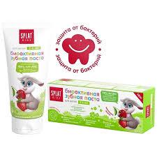 <b>SPLAT</b> Натуральная антибактериальная детская <b>зубная паста</b> ...