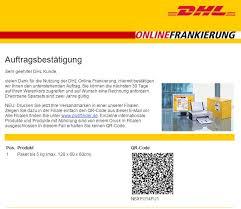 etikettendrucker dhl online frankierung