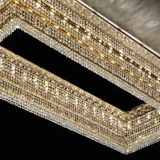 full size of rectangular crystal chandelier dining room with linen shade modern rectangle fabric archived
