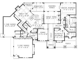 44 best house plans images on pinterest country houses, european 4 Bedroom House Plans For Narrow Lots floor plans aflfpw20972 2 story craftsman home with 5 bedrooms, 4 bathrooms and 3,930 Small Narrow Lot House Plans