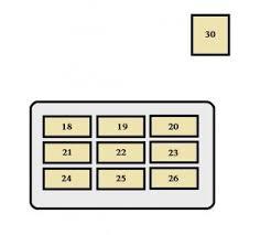 toyota tacoma 1995 1997 fuse box diagram auto genius toyota tacoma 1995 1997 fuse box diagram