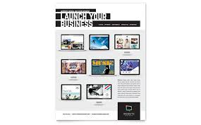 Services Flyer Professional Services Flyers Templates Design Examples