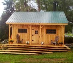 tiny house vermont. Diy Tiny House Plans ($50) - Vermont Cottage (Option A) 16x20 Rustic E