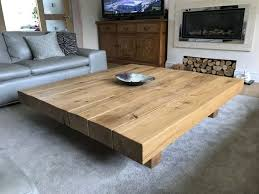 extra large coffee table project 472