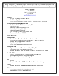 Free College Resume Builder Free College Resume Builder Resume Examples 18