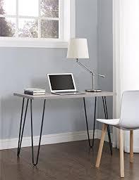 retro office desks. Ameriwood Home Owen Retro Desk With Metal Legs (GrayOak/ Gray) Office Desks
