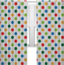 dots dinosaur curtains 2 panels per set personalized
