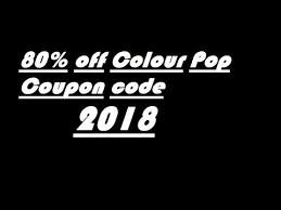 75 off colourpop coupon promo code 2018 today verify