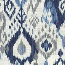 gray and blue ikat rug designs