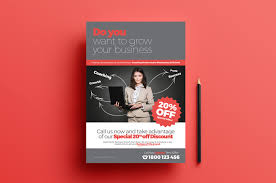 Free Flier Template Free Business Coach Flyer Poster Template In Psd Ai