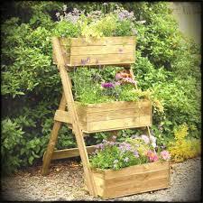 vegetable garden box vertical outdoor furniture fun ideas