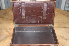 circa 1920s english writing case in leather