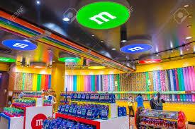 Las Vegas Feb 18 The M M World Store In Las Vegas Strip On
