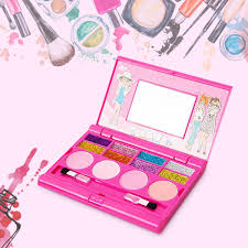 princess makeup set for kids cosmetic s kit miniature eyeshadow lip gloss blushes beauty decoration toys banggood mobile