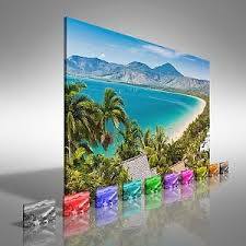 image is loading port douglas beach queensland australia canvas print large  on large canvas wall art ebay with port douglas beach queensland australia canvas print large picture