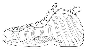 jordan coloring pages shoes printable running retro