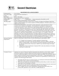 Iti Resume Format In Word Pdf Download Electrician Apprentice
