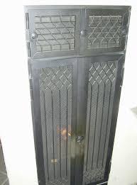 Schutztür Vor Der Feuertür
