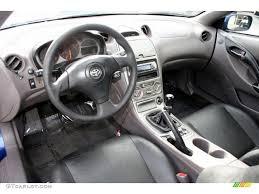 Black/Silver Interior 2000 Toyota Celica GT Photo #58968420 ...