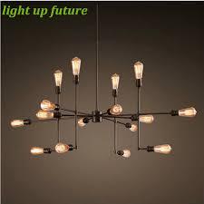 vintage lighting pendants. Vintage Loft Metal 9/16 Heads Pendant Light Shade Chrome Satellite Style Sputnik Industrial Lamp Fixture 2086-in Lights From Lighting Pendants L