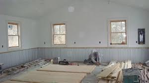 new corrugated metal garage walls