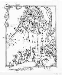 20+ unicorn coloring pages | TimyKids