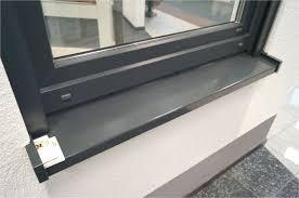 Fensterbank Auen Anthrazit Best Fensterbnke Aluminium Fensterbank