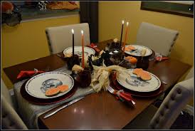 Halloween Table Setting The Whimsical Lady .
